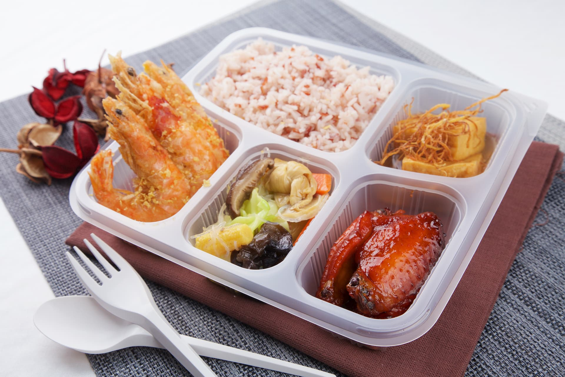 Bento, Event, High-tea, and Halal Catering