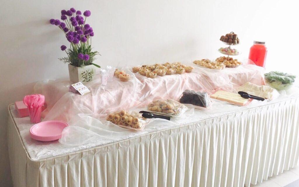 high tea buffet catering