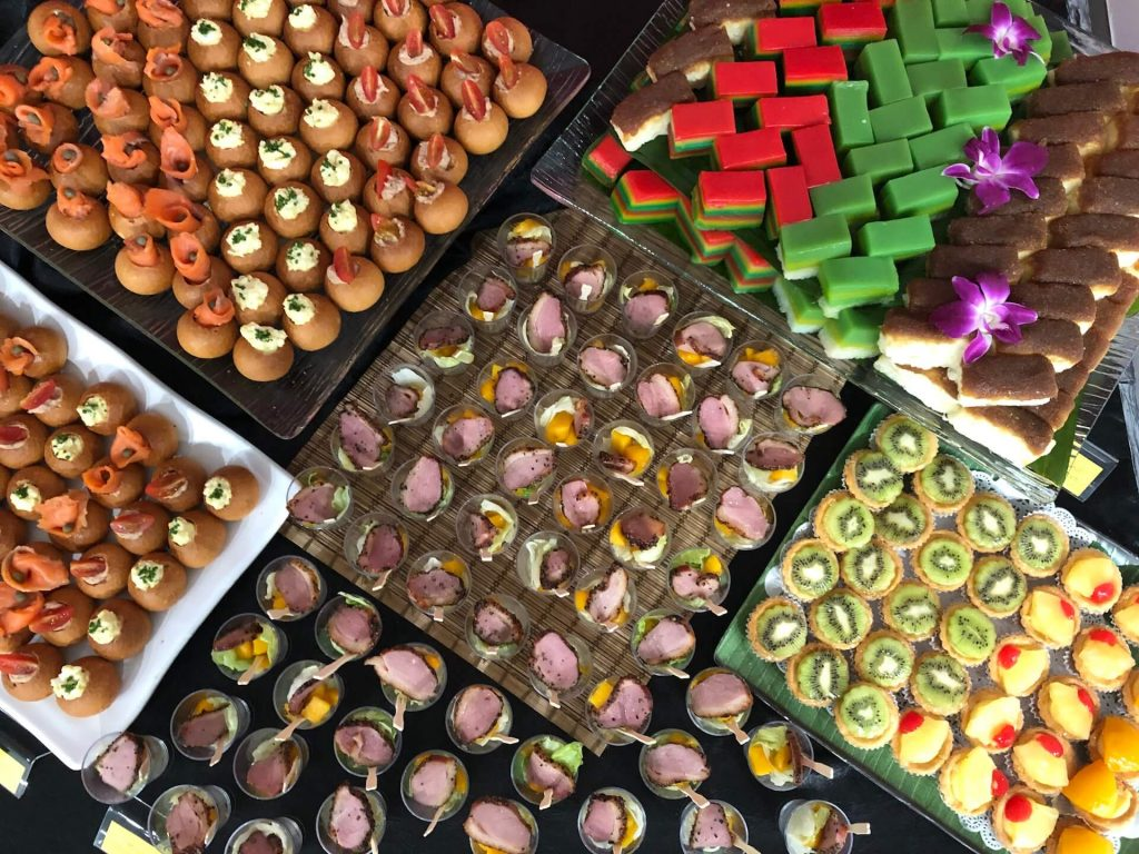 halal bento catering